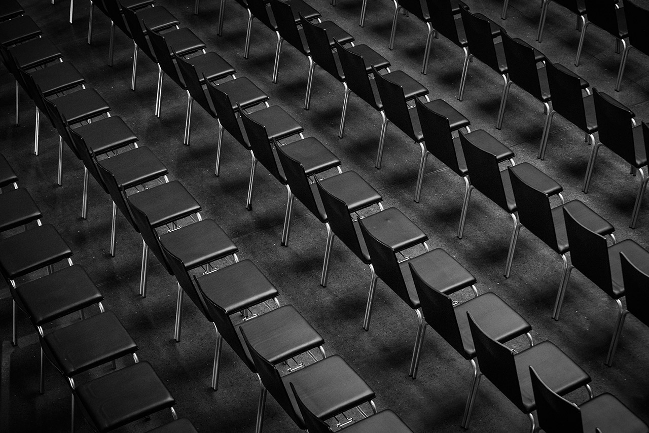 Bestuhlung Nikolaisaal Potsdam, Oktober 2017 © Mio Schweiger Fotografie