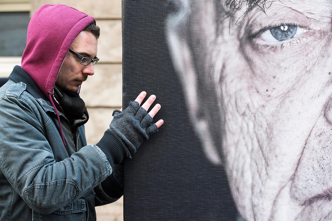 """Luigi Toscano """"Gegen das Vergessen"""", Sophienkirche Berlin, November 2017  © Mio Schweiger Fotografie"""