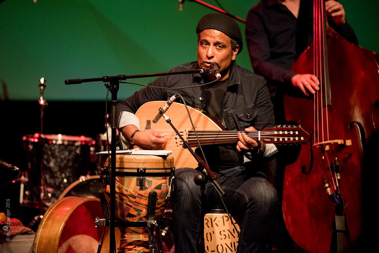 Nasser Kilada | Voice & Oud © Mio Schweiger Fotografie