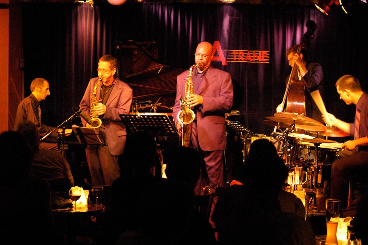 Ray Blue Quintett, A-Trane Berlin © Mio Schweiger Fotografie